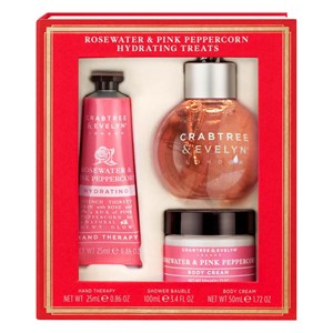 Crabtree & Evelyn Rosewater & Pink Peppercorn Hydrating Treats