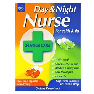 Day & Night Nurse Capsules 24 capsules