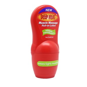Deep Heat Muscle Massage Roll-On Lotion 50ml