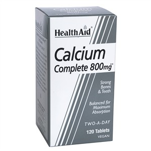 HealthAid Balanced Calcium Complete 800mg 120 tablets