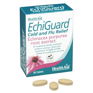HealthAid EchiGuard Cold and Flu Relief 30 tabs