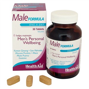 HealthAid Male Formula 30 tablets