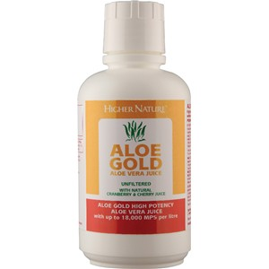 Higher Nature Aloe Gold Cherry/Cranberry 485ml