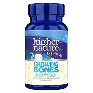 Higher Nature Kids Growing Bones 30 Tabs