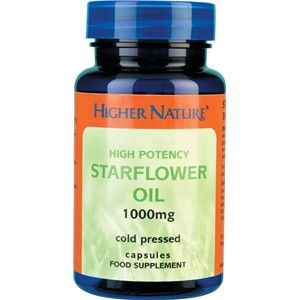 Higher Nature Starflower Oil 30 veg tabs