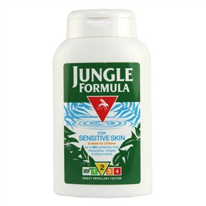 Jungle Formula Insect Repellent Lotion - For Sensitive Skin 175ml