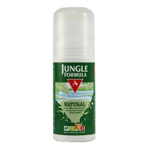 Jungle Formula Natural Insect Repellent Roll-On - Factor 3 50ml