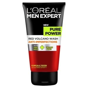 L'Oreal Paris Men Expert Pure Power Red Volcano Anti-Imperfection Wash 150ml