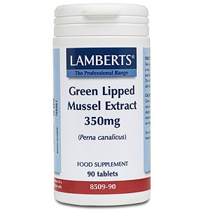 Lamberts Green Lipped Mussel Extract 350mg Tablets 90 Tabs