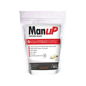 Man UP Protein Shake Vanilla 455g