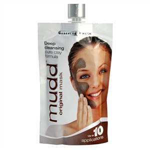 Mudd Original Mask Deep Cleansing Pure Clay Formula - Resealable Pack 100ml