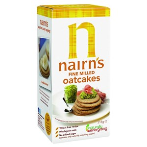 Nairn's Fine Milled Oatcakes 218g