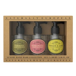 Naturally European Hand Wash Collection 3 X 100ml