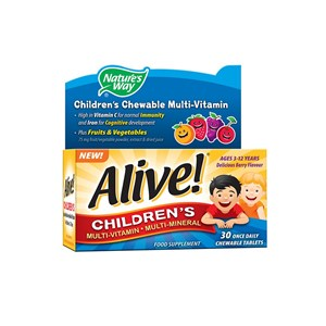 Nature's Way Alive! Children's Multi-Vitamin 30 tablets