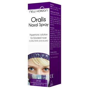 New Horizon Oralis Nasal Spray 20ml