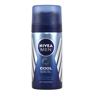 Nivea Men Cool Kick Anti-Perspirant - Travel Size 35ml