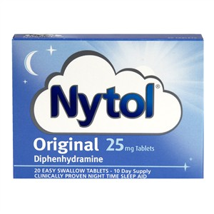 Nytol Original 25mg Tablets 20 Tabs