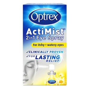 Optrex ActiMist 2in1 Eye Spray - Itchy & Watery Eyes 10ml