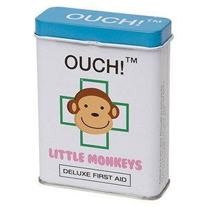 Ouch! Deluxe First Aid Little Monkey Plasters 24 plasters