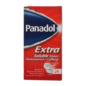 Panadol Extra Soluble Tablets 24 tablets solubles
