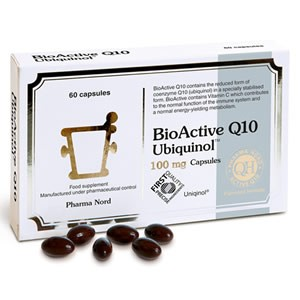 Pharma Nord Bio-Active Q10 Ubiquinol 100mg 150 Caps