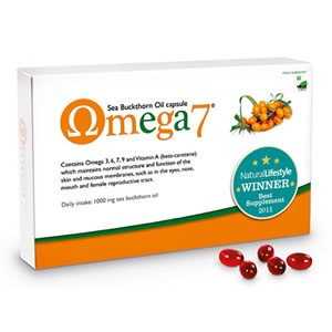 Pharma Nord Omega 7 Sea Buckthorn Oil Capsules 150 veg caps