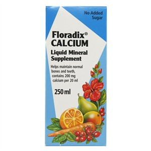 Salus Floradix Calcium Liquid Mineral Supplement 250ml