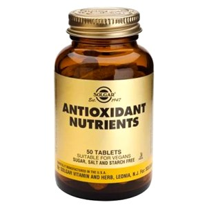 Solgar Antioxidant Nutrients Tablets 100 Tablets