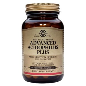 Solgar Advanced Acidophilus Plus Vegetable Capsules 120 caps