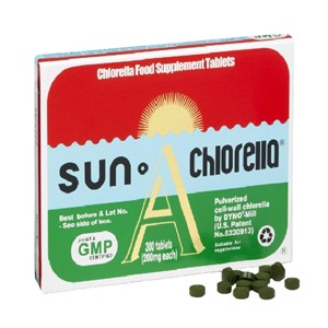 Sun Chlorella 'A' 200mg Tablets 300 tablets