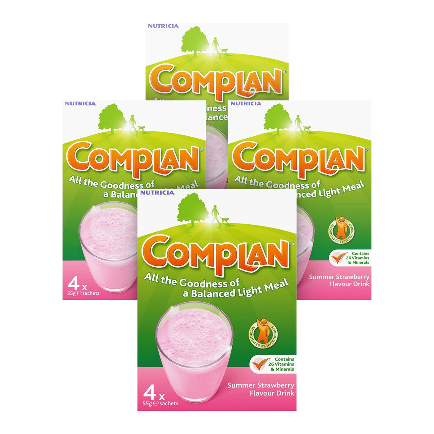 Complan Strawberry Multipack