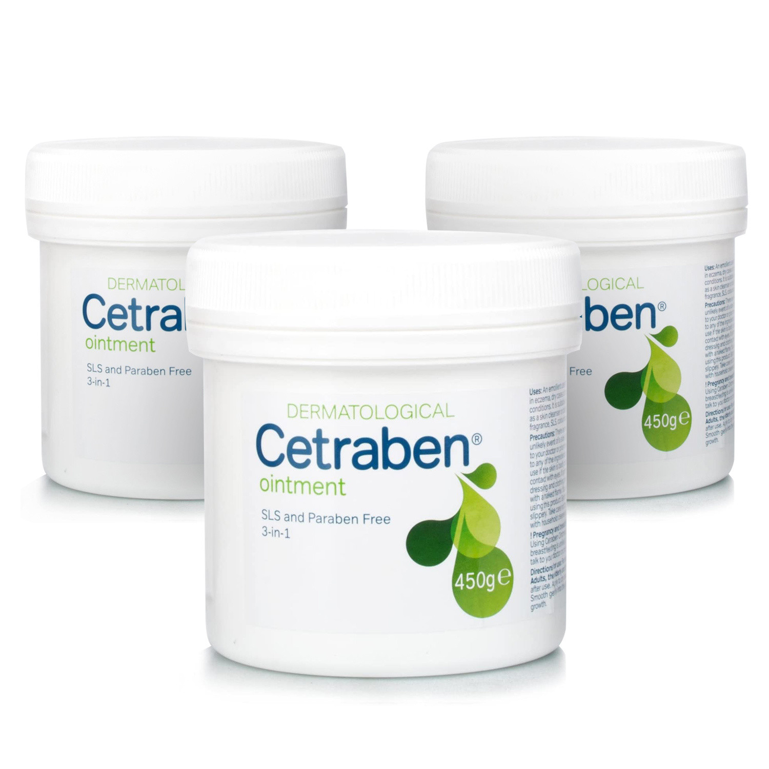 Cetraben Ointment - 3 Pack