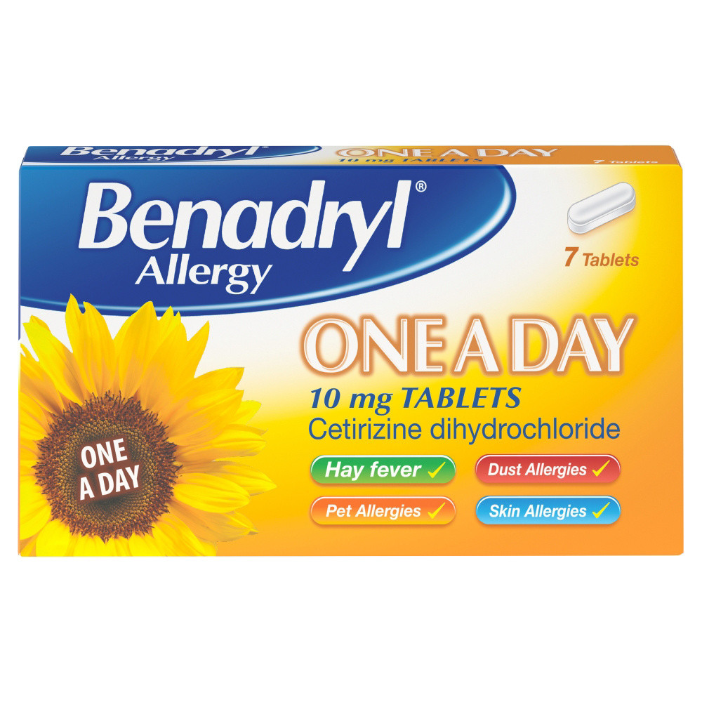 Benadryl One A Day Relief 7