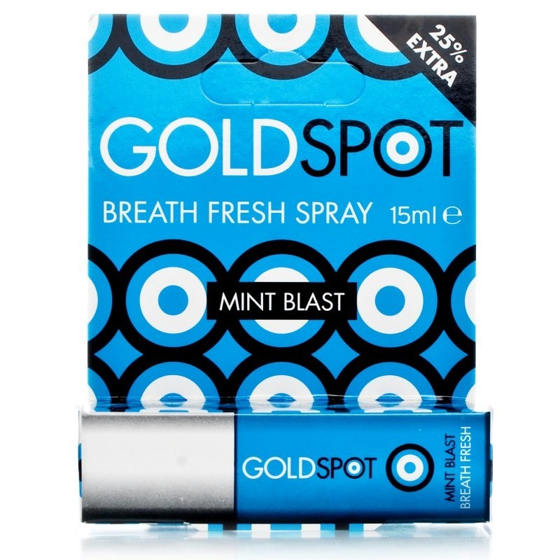 Gold Spot Mint Blast Breath Fresh