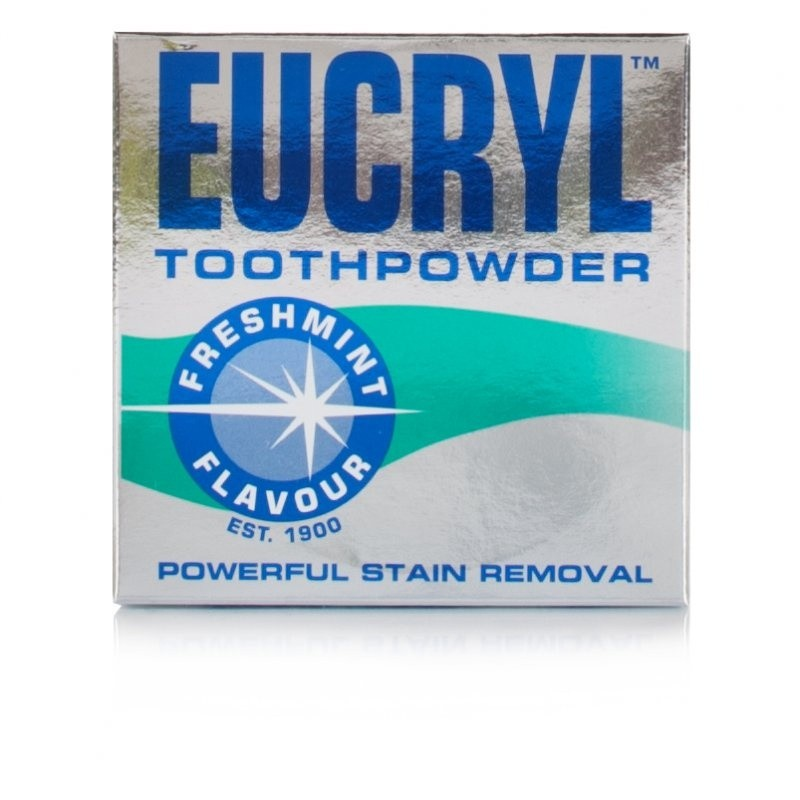 Eucryl Freshmint Toothpowder Triple Pack