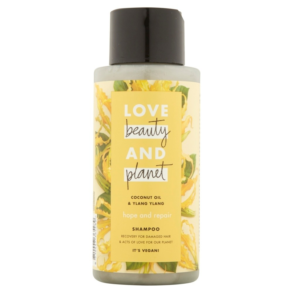Love Beauty and Planet Vegan Hair Shampoo Coconut Oil & Ylang Ylang Hope And Rep