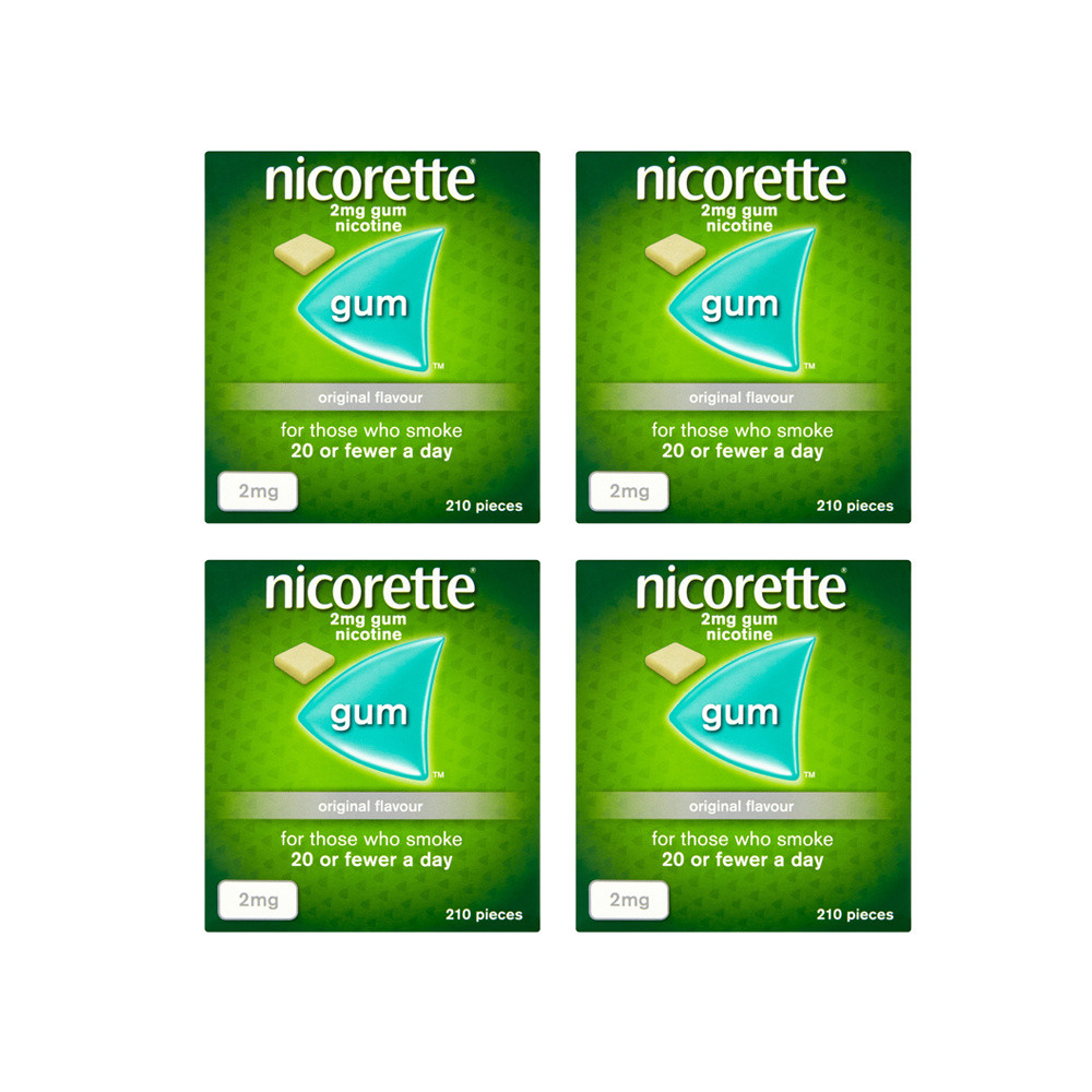 Nicorette 2mg Original Gum - 630 Pieces