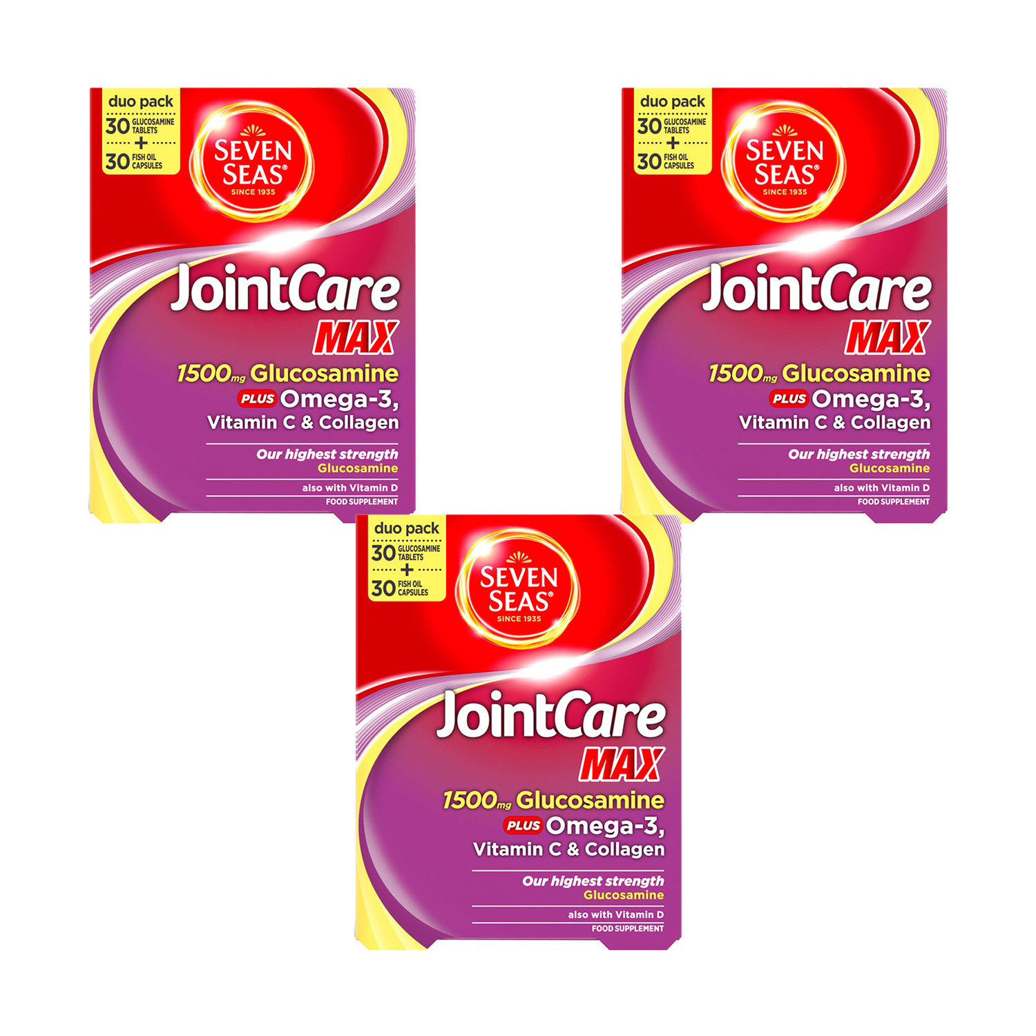 Seven Seas JointCare Max- 3Pack