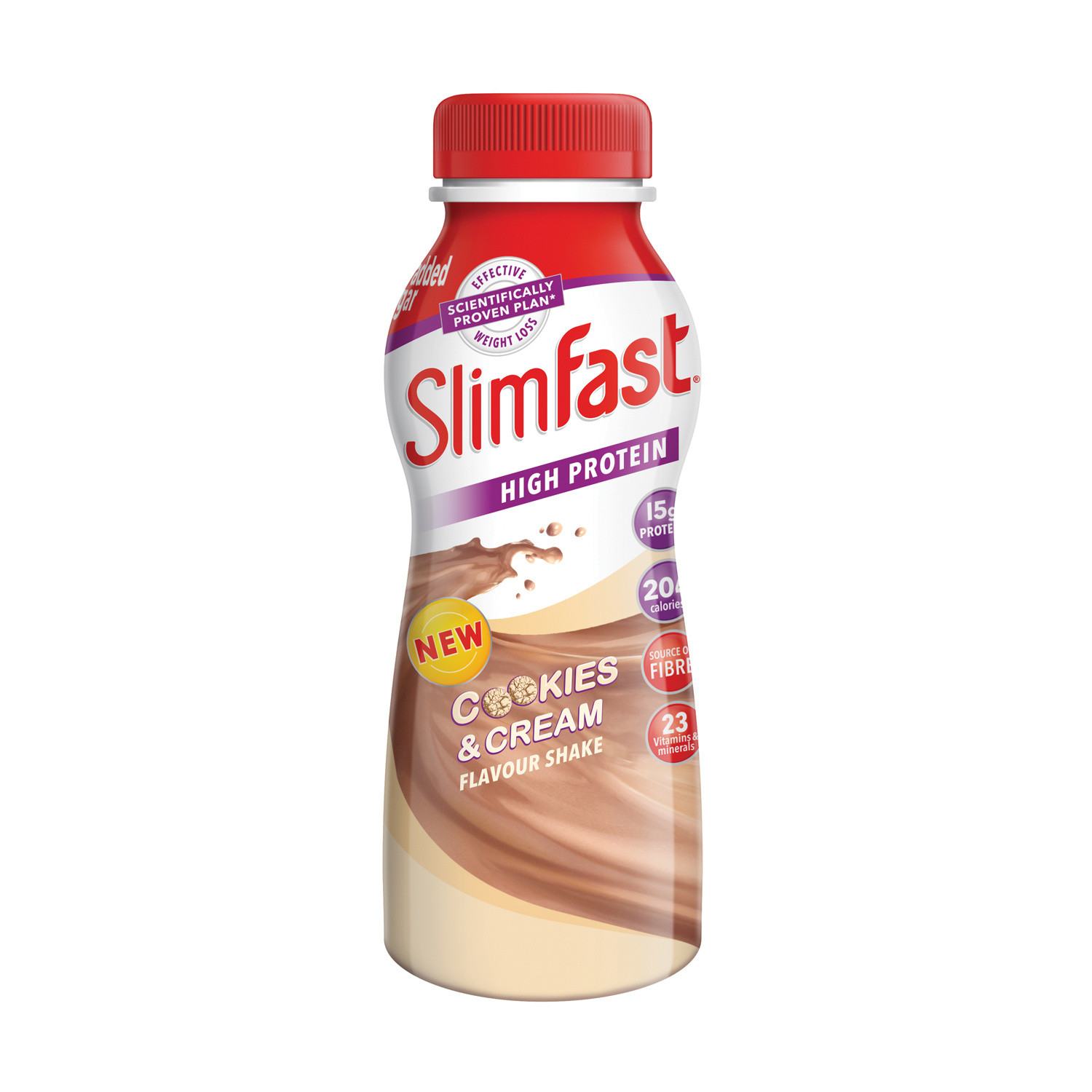 SlimFast Cookies & Cream Flavour Shake 325ml