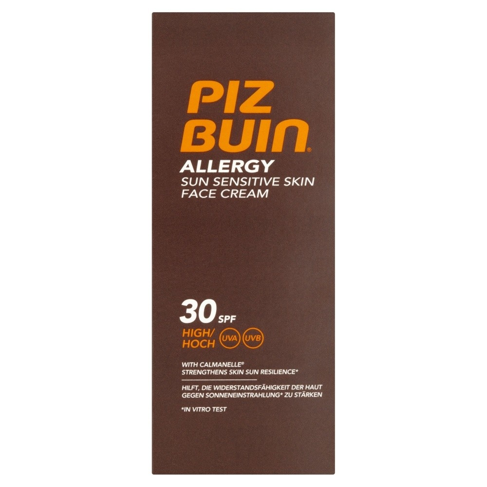 Piz Buin Allergy Sun Sensitive Skin Face Cream SPF30