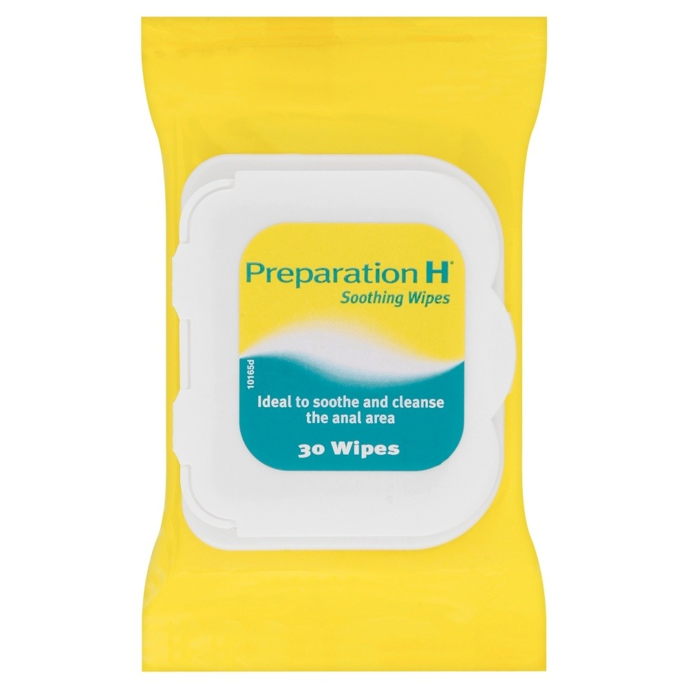 Preparation H Soothing Wipes