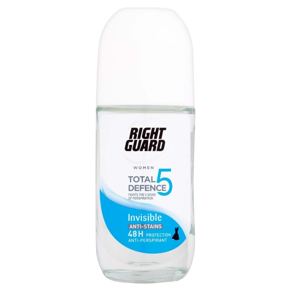 Right Guard Total Defence 5 Woman Invisible Roll-On