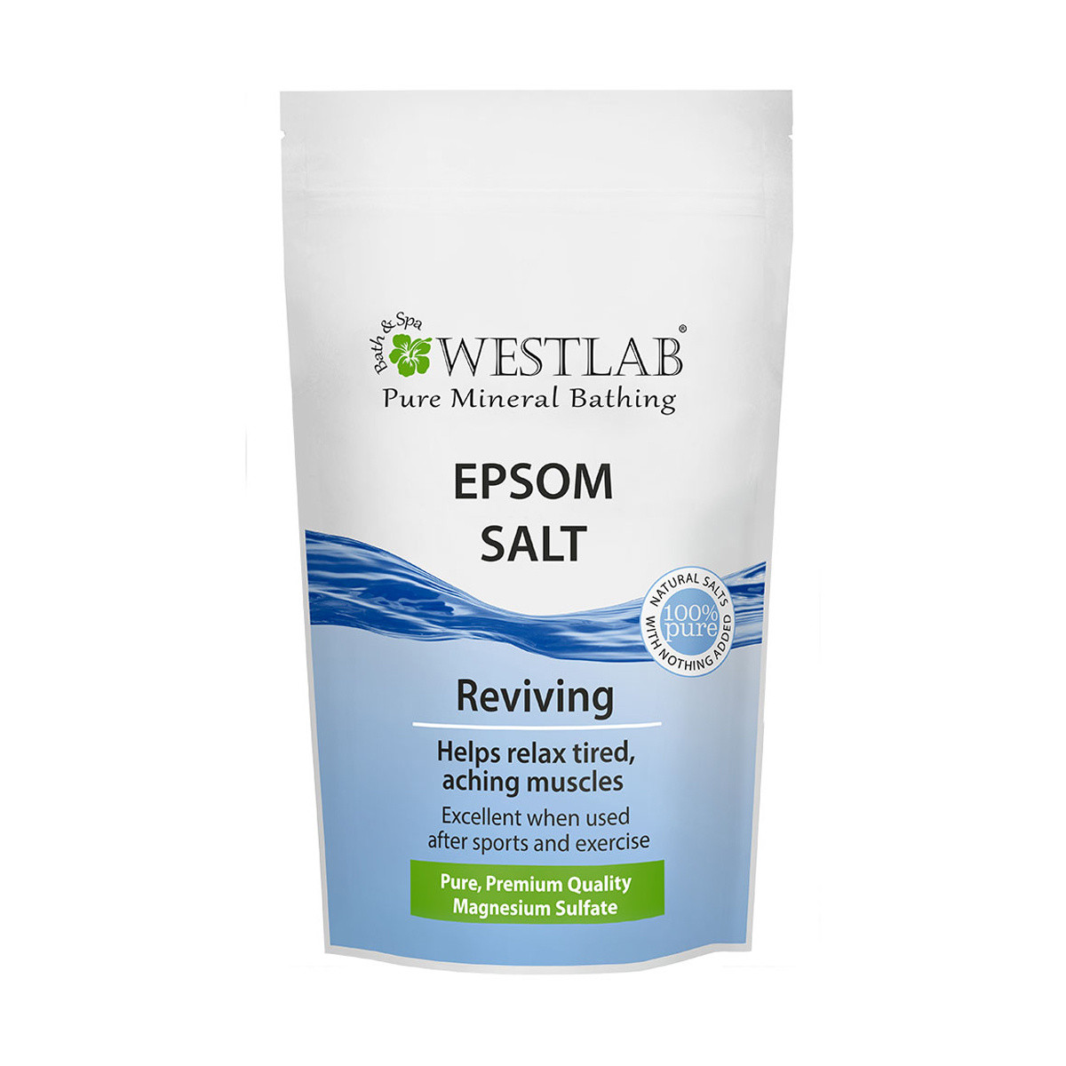 Westlab Pure Mineral Bathing Epsom Salt