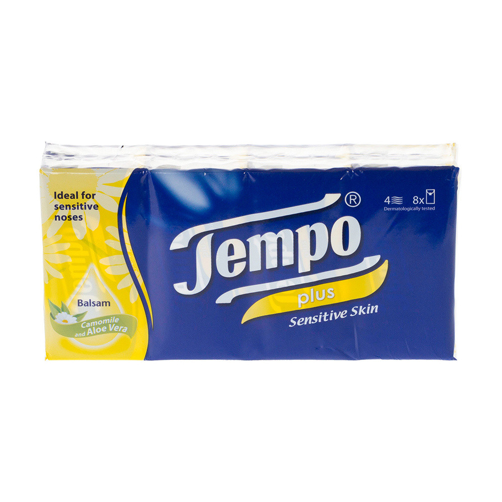Tempo Pocket Pack Tissues 12 Pack