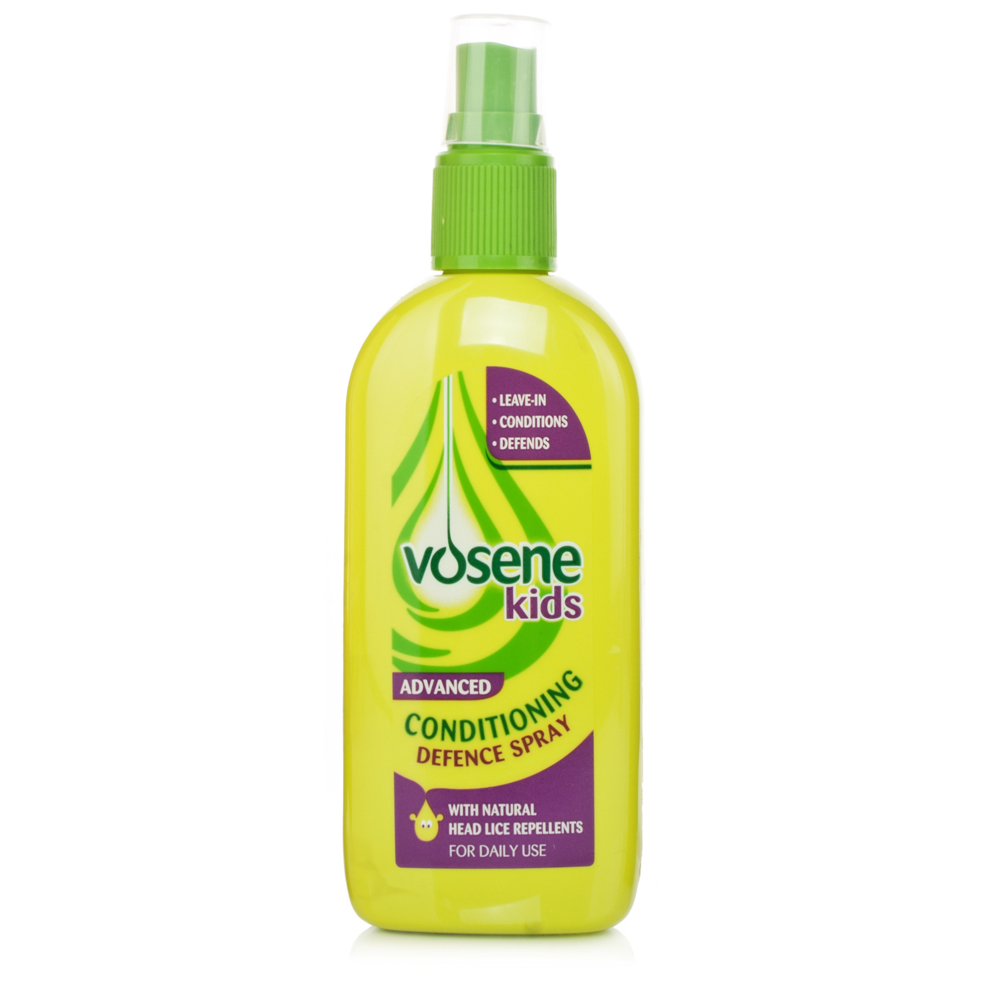 Vosene Kids 3 in 1 Leave-In-Spray Head Lice Repellent