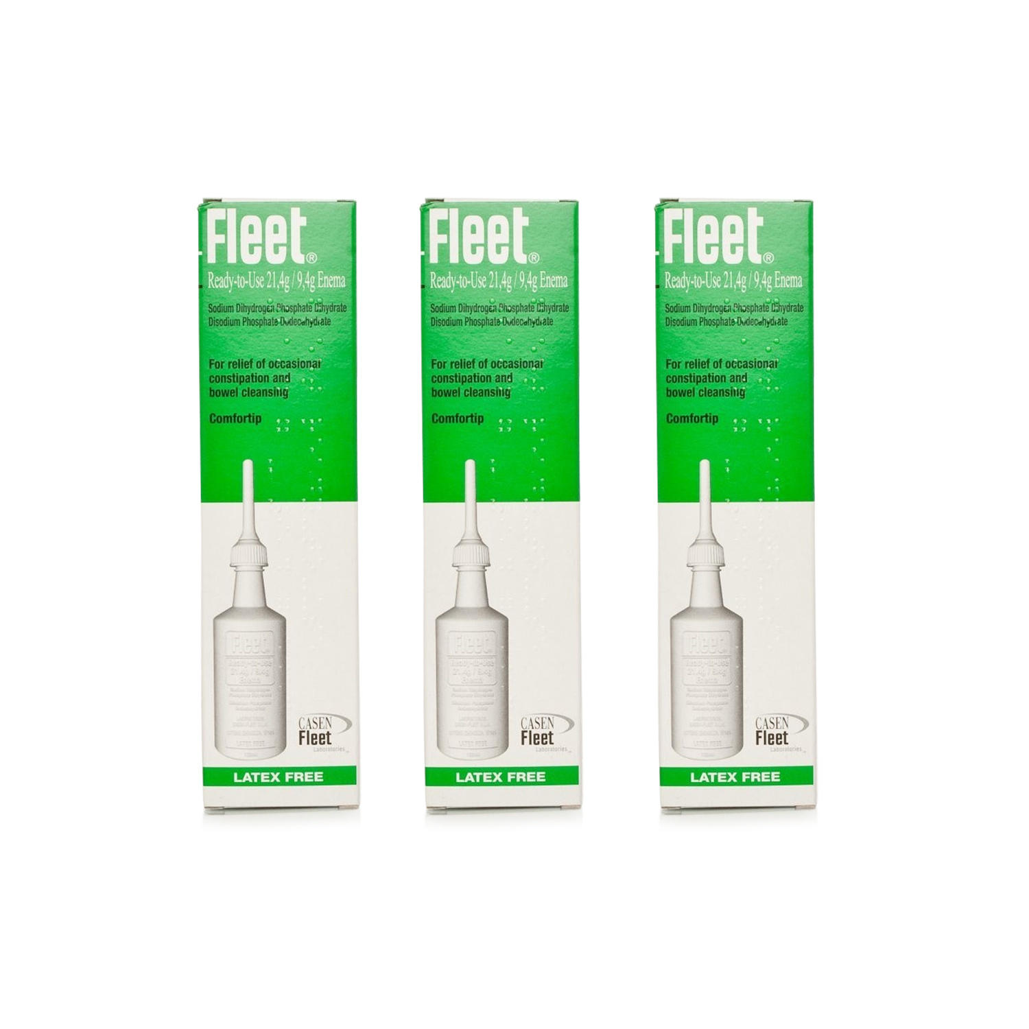 Fleet Ready To Use Enema Multipack