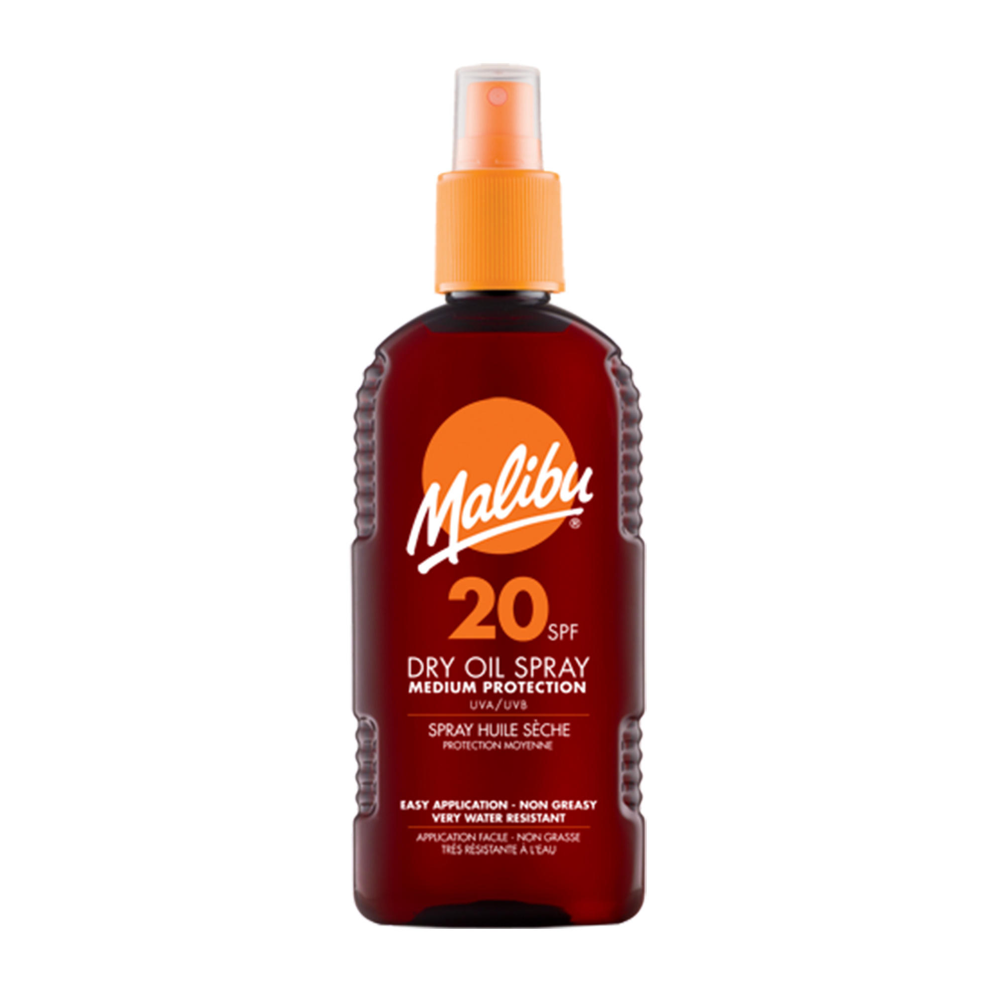 Malibu Dry Oil Spray SPF20
