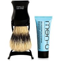 men-u Pure Bristle Shaving Brush