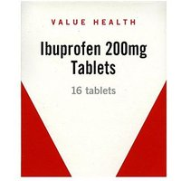 Value Health Ibuprofen 200mg - 16 Tablets