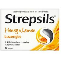 Strepsils Honey and Lemon - 36 lozenges